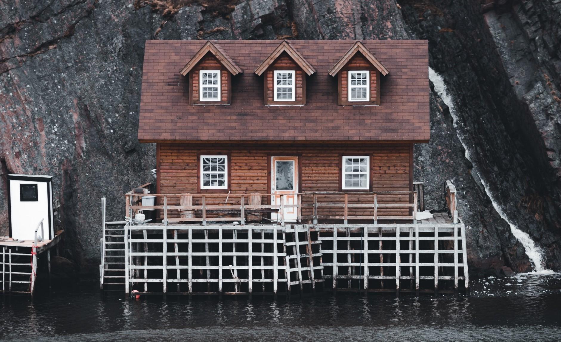 Holzhaus auf Teneriffa